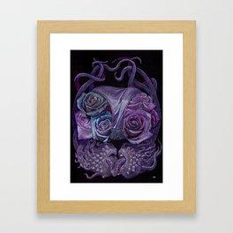 Smelly Kiss Framed Art Print