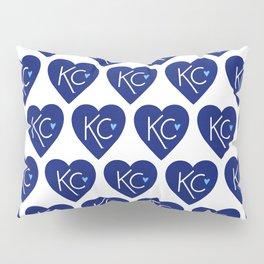 KC Love Navy & Blue Pillow Sham