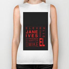 Eleven:Stranger Things - tvshow Biker Tank