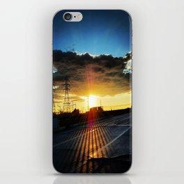 Long Beach Sunset iPhone Skin