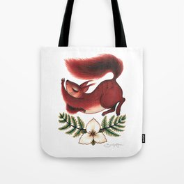 Squirrel Stretch Tote Bag