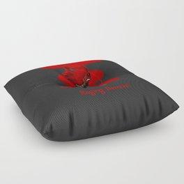 Raging Demon Floor Pillow