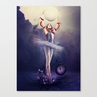 evolution Canvas Prints featuring Evolution by Kryseis Retouche