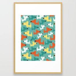 DOGGIES Framed Art Print