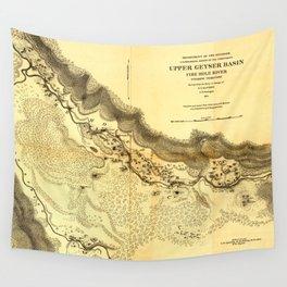 Upper Geyser Basin Wall Tapestry