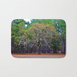 Pine Tree Landscape Bath Mat