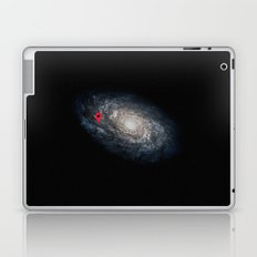 We Are Here! Galactic Location Laptop & iPad Skin
