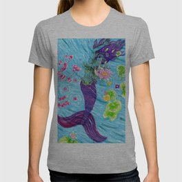 Floral Mermaid T-shirt