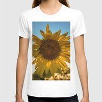 sunflower T-shirts featuring Sunflower by Svetlana Korneliuk
