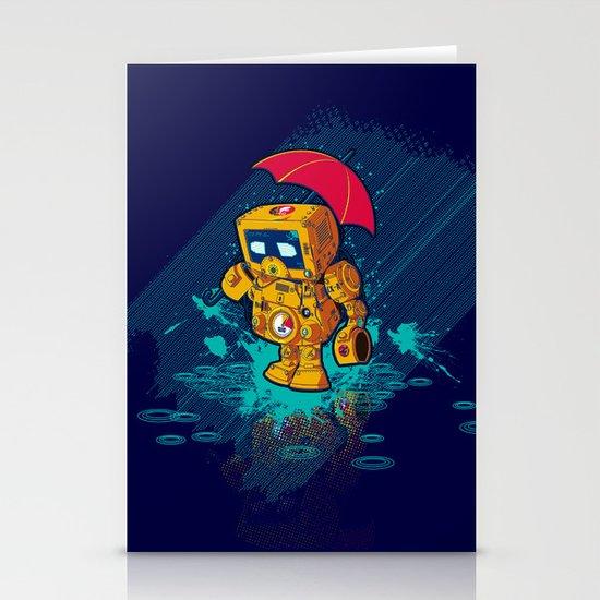 TINY ROBOT Stationery Cards