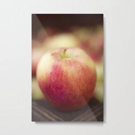 Red Ambrosia Apple Metal Print