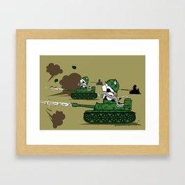 Muso Milkwar Tanker Framed Art Print