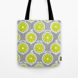 Lime Mod Tote Bag