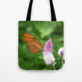 Butterfly On Bloom Tote Bag