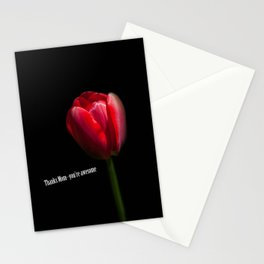 Thanks Mom Stationery Cards