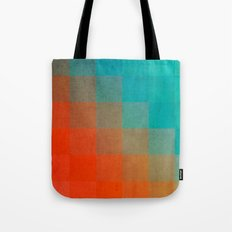 Beach Pixel Surface Tote Bag