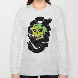 Bandaged Skull Long Sleeve T-shirt