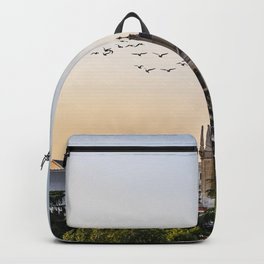Almudena cathedral of Madrid Backpack