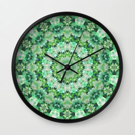 Geometric Mandala 4 Wall Clock