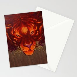 Fire Tiger Stationery Cards