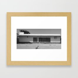 A Question of Inevitable Demise VIII Framed Art Print