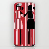 sisters iPhone & iPod Skins featuring sisters  by sladja