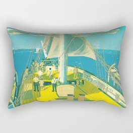 Kazusa Beach Rectangular Pillow