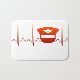 PILOT HEARTBEAT Bath Mat