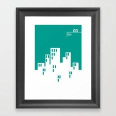 03_WEBDINGS_c Framed Art Print
