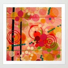 """Pink"" Art Print"
