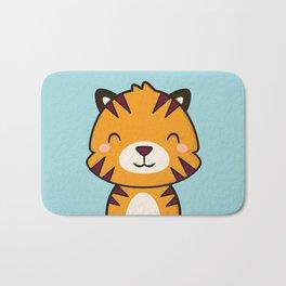 Kawaii Cute Tiger Bath Mat