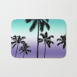 Alexandrite tropical palms Bath Mat