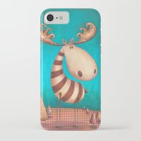 finn iPhone & iPod Cases featuring FINN by Caroletta