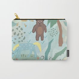 Bear and Unicorn Carry-All Pouch