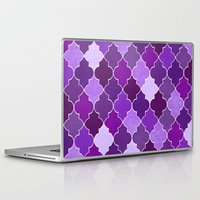 morocco Laptop & iPad Skins featuring Morocco Orchid by Jacqueline Maldonado