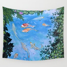 KOI Wall Tapestry