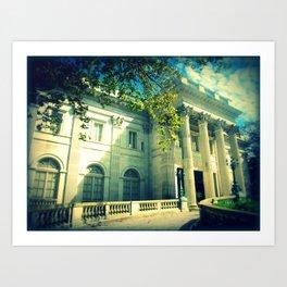 Marble House Art Print