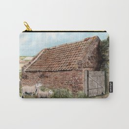 Farm Shed with Sheep Carry-All Pouch