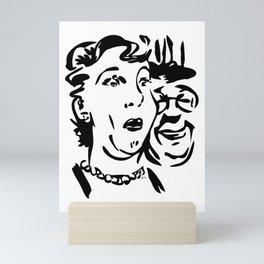 Face A Surprise Mini Art Print