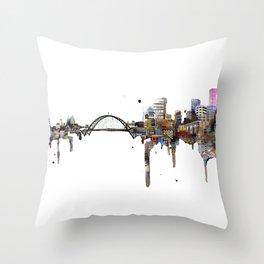 Fremont Bridge Throw Pillow