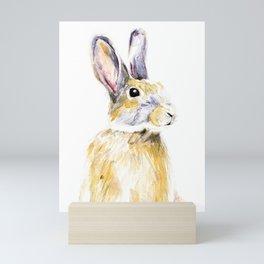 Bunny Mini Art Print