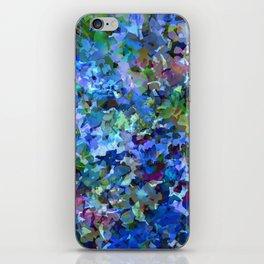 Blue Violet Woods iPhone Skin