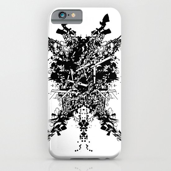 Abstract no. 7 iPhone & iPod Case