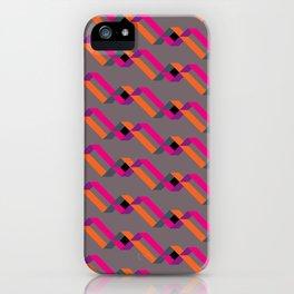 xoxo neon iPhone Case