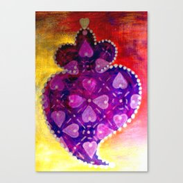 heart of Viana Canvas Print