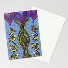Hanging Plant 2 Stationery Cards