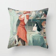 The Twirl Throw Pillow