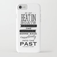 the great gatsby iPhone & iPod Cases featuring The Great Gatsby by Karissa Rush