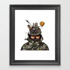 Snazzy Cap. Framed Art Print