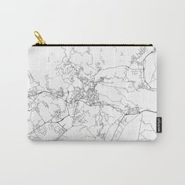 Minimal City Maps - Map Of Perugia, Italy. Carry-All Pouch